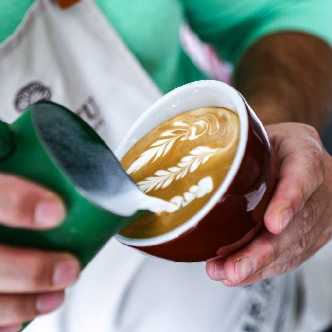kurz latte art - kópia